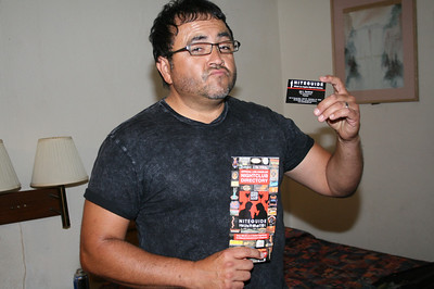 TOBIAS RENE & DONNY TESSO PRE-SHOW @ TASTE OF TEXAS • 09.10.11