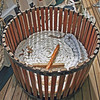 Wooden line basket 13 X 19