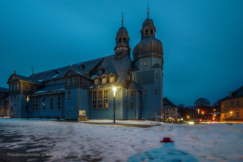 Blue Wooden Church, Clausthal-Zellerfeld (Germany)