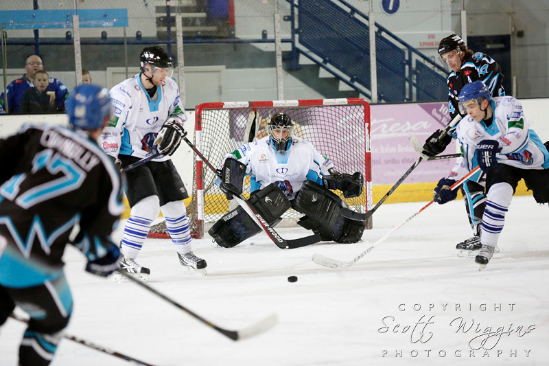 NIHL Coventry Blaze v Solway Sharks