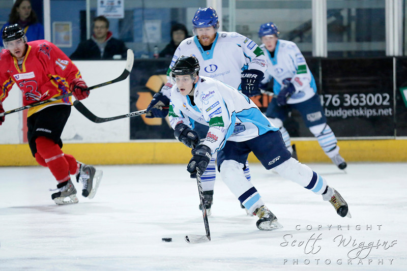 NIHL Coventry Blaze v Billingham Stars
