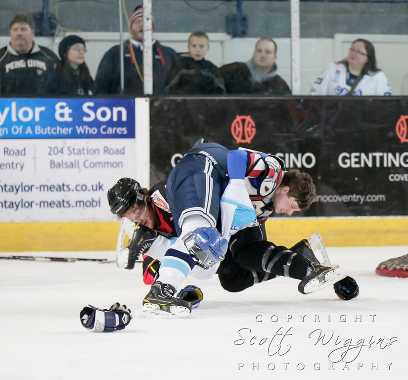 NIHL Coventry Blaze v Blackburn Hawks