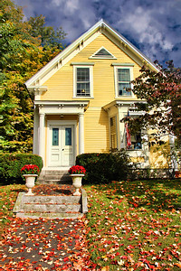 Yellow House in New Hampshire