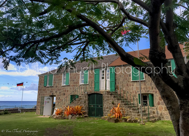 Birth place of Alexander Hamilton;  Hamilton House and Museum in Charlestown, NEVIS