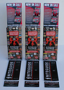 Just finished the new 2012 Niteguide Pocket Edition counter displays.