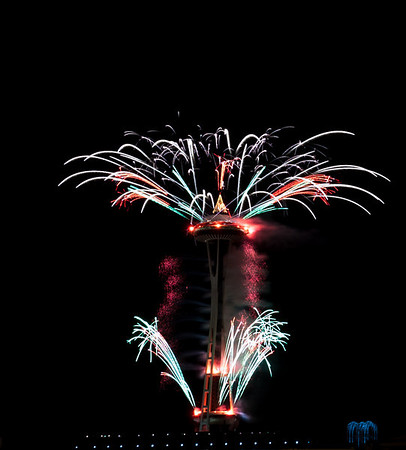 Fireworks New Years 2011