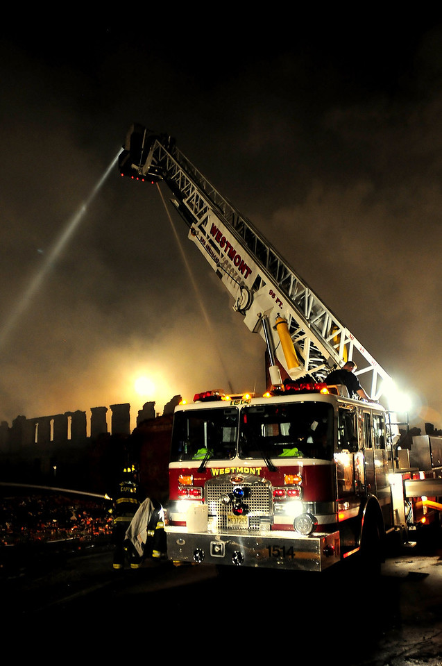 Camden, NJ  12 Alarm Fire destroys a factory and 10 homes on 06.09.11