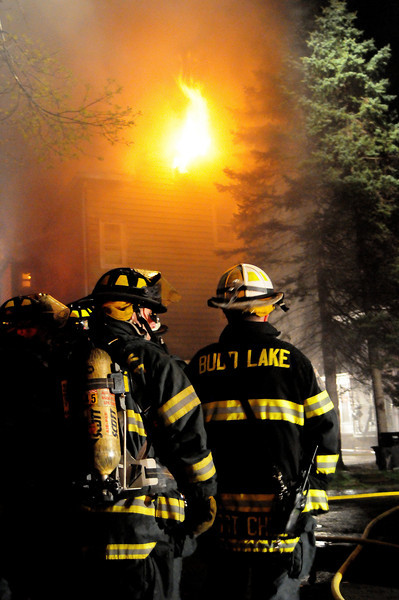 FATAL FIRE 3rd Alarm --Commerical Building Fire at 10 Main st Netcong, NJ on 04.06.12