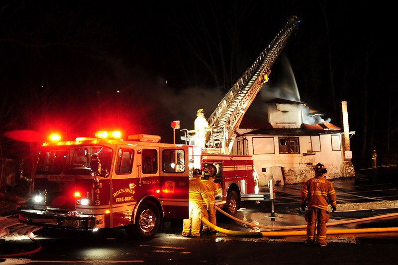 Rockaway Boro  fire on 12.15.10