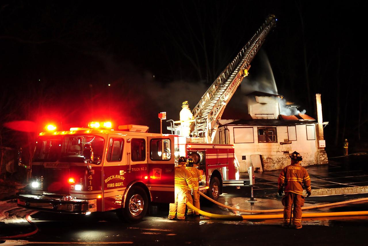 Rockaway Boro  fire on 12.15.10