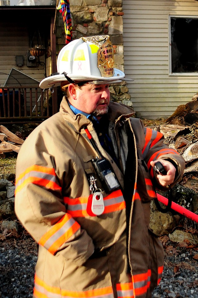 Chief  Wottle  of  the Ogdensburg Fire Dept