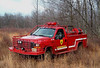 NJ FOREST FIRE SERVICE   DIV  A  North Jersey   Unit  A-18  2000 FORD F-350 230 gallon tank  300 Ft booster reel ,,This unit responds to  fires in  Western  Morris & Sussex counties, Can also respond to any major fire  in  the state