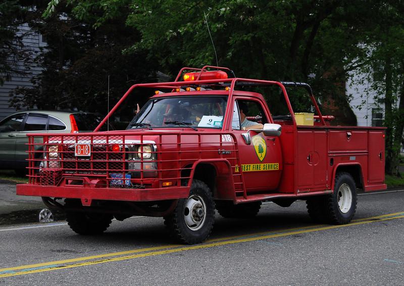 NJ State Forest Fire Service  Engine  B-18  1991 Dodge  250/250