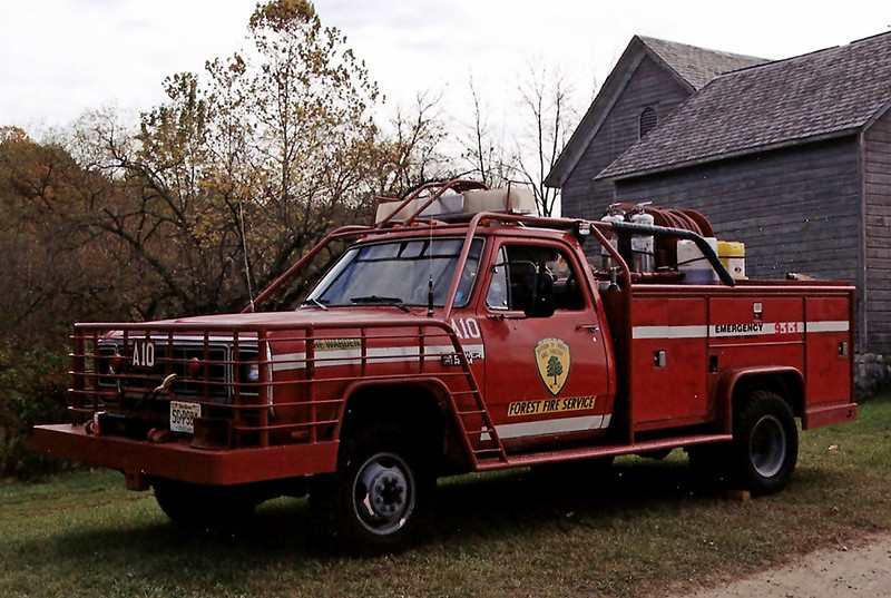 NJ State forest fire Service A-10 1990 Dodge 350 250/ 250