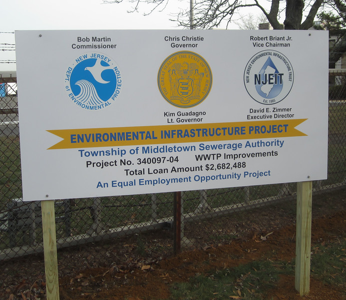 Middletown Township Sewerage Authority Clean Water Project