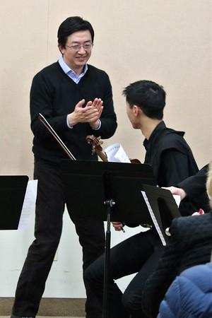 2018 January 14 Shanghai Quartet Master Class