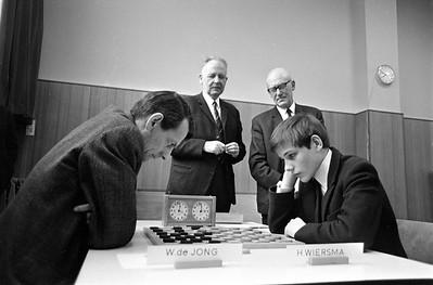 Harm Wiersma (r) en W. de Jong