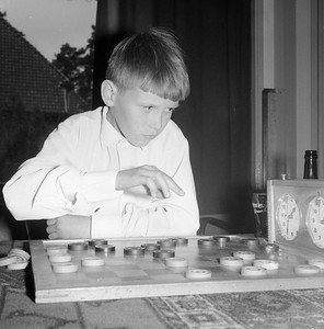 Elfjarige kampioen van Friesland, Frank Drost aan zet