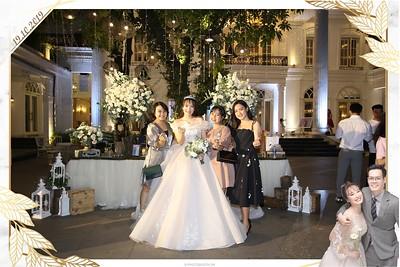 Nhật Lệ & Nguyễn Thắng wedding instant print photobooth @ Star Palace | Chụp ảnh in hình lấy liền Tiệc cưới tại Hà Nội | Photobooth Hanoi