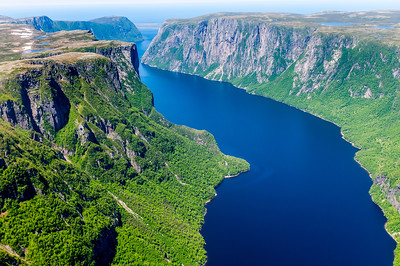 Western Brook Pond, Newfoundland