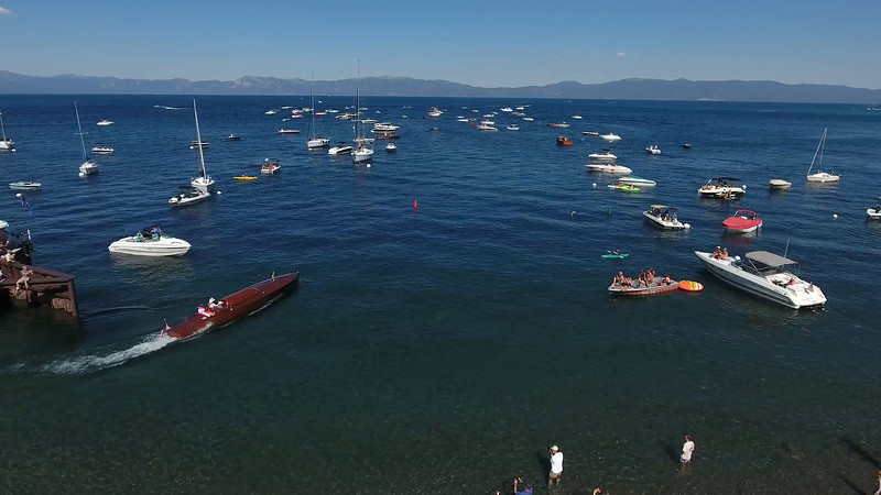 Concourse d'Elegance, Lake Tahoe wooden boat show/competition