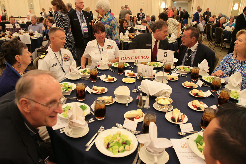Sea Services Luncheon at the 2014 Navy League National Convention in San Diego, CA.