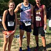 The womens winner Erin Crawford of Townsend, mens first-place winner Colin Cook of Pepperell and second-place winner Cody Freihofer of Townsend