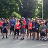 Runners and walkers participating in the NM Cares Race to End Stigma & Save Lives