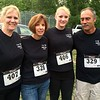From left, Karen Mahoney of Pepperell, Carrie Curry of Townsend, Jesse Mahoney of Pepperell and Tom Curry of Townsend