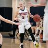 North Middlesex Regional High School girls basketball played Groton Dunstable Regional High School on Saturday in Townsend. NM's #5 Gabby Durham. SENTINEL & ENTERPRISE/JOHN LOVE