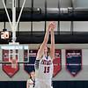 North Middlesex Regional High School girls basketball played Groton Dunstable Regional High School on Saturday in Townsend. NM's #15 Sara Murphy shoots a free throw. SENTINEL & ENTERPRISE/JOHN LOVE