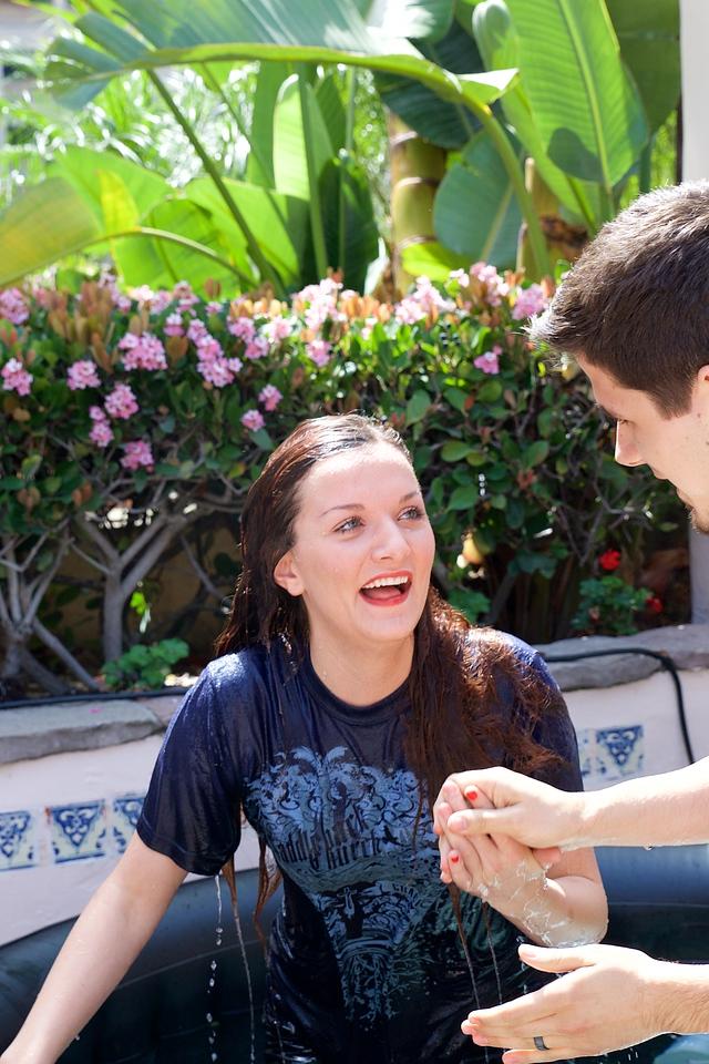 Newport Mesa Regional Ministry Baptism on March 22, 2015,Photographer: David Bremmer