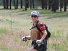 Wendee as we are heading up a trail.