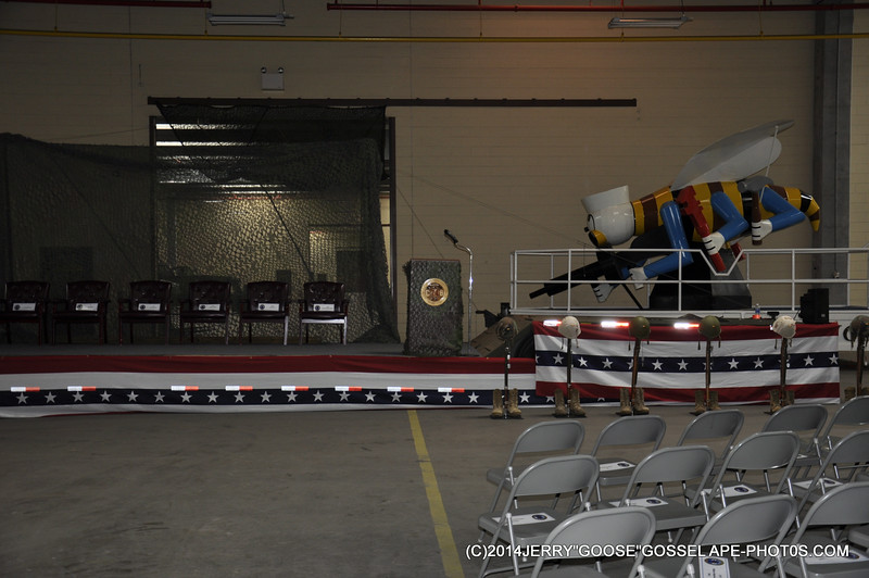 THE SET UP FOR THE DECOM OF NMCB-74