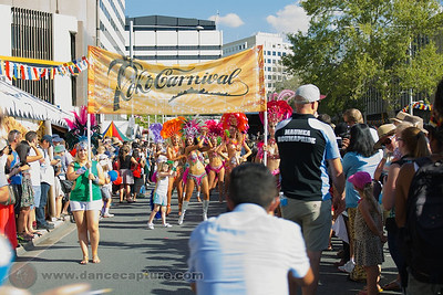 Samba Parade at the Multicultural Festival 8 February 2014 in Canberra
