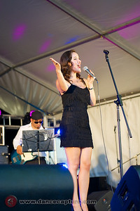 Maite Solana Y Swing Band at the Multicultural Festival 8 February 2014 in Canberra