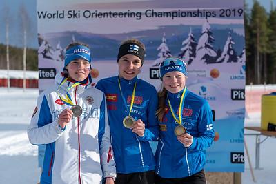 Nina Kärnä kultaa, Maria Hoskari pronssia