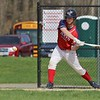 North Middlesex Regional High School baseball had a home game against Oakmont Regional High School on Wednesday afternoon. NMRHS player Pat Aubuchon swings at a pitch during action in the game. SENTINEL & ENTERPRISE/JOHN LOVE