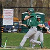 North Middlesex Regional High School baseball had a home game against Oakmont Regional High School on Wednesday afternoon. ORHS player Corey Dandy swings at a pitch during action in the game. SENTINEL & ENTERPRISE/JOHN LOVE