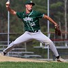 North Middlesex Regional High School baseball had a home game against Oakmont Regional High School on Wednesday afternoon. ORHS pitcher Tim O'Connor winds up to deliver a pitch during the game. SENTINEL & ENTERPRISE/JOHN LOVE