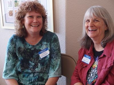 Rachel Murphree and Karen Steinberg
