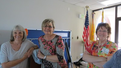 Karen Steinberg, Nancy Diaz and Ruth Burkett