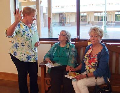 Linda Keener, Joy Calvert & Johnnie Gubanski 2017-05 SC