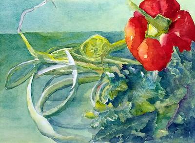 "Mruphree, Rachel  ""Farmer's Market Scapes""  2017-05  -  SC"