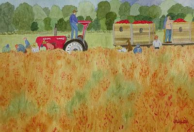 "Walch, Janey  ""Chile Harvest""  2017-5   -  SC"