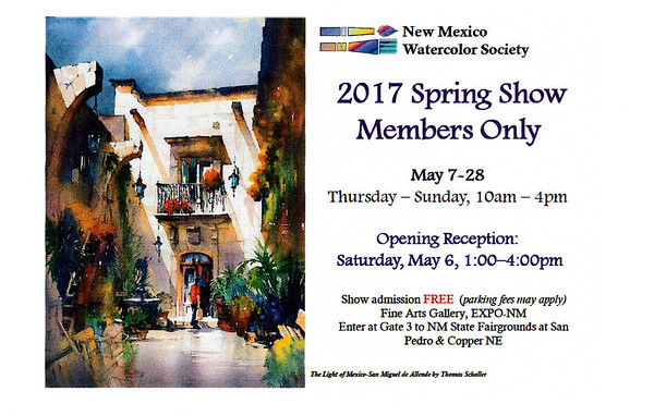 2017-05 ABQ Spring Exhibition Accepted Paintings