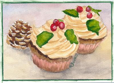 Ruth Burkett - Holiday Cupcakes