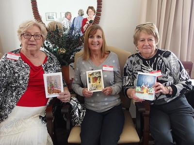 Judy Hampton, Julie Caffee-Cruz, Beverly Messer
