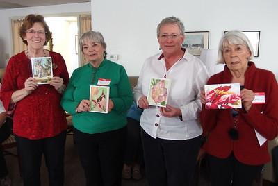 Ruth Burkett,Joy Calvert, Linda Keener, Mary McCoy