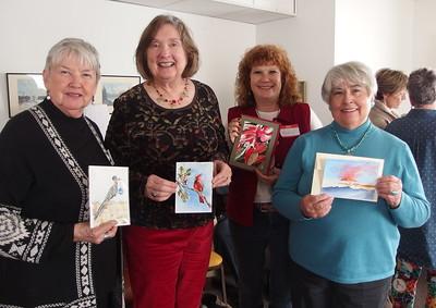 Karen Zibert, Janet McLennan,Rachel Murphree, Marie Siegrist